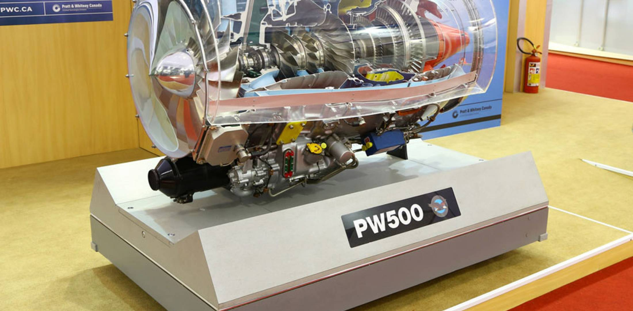Pratt & Whitney PW500 engine