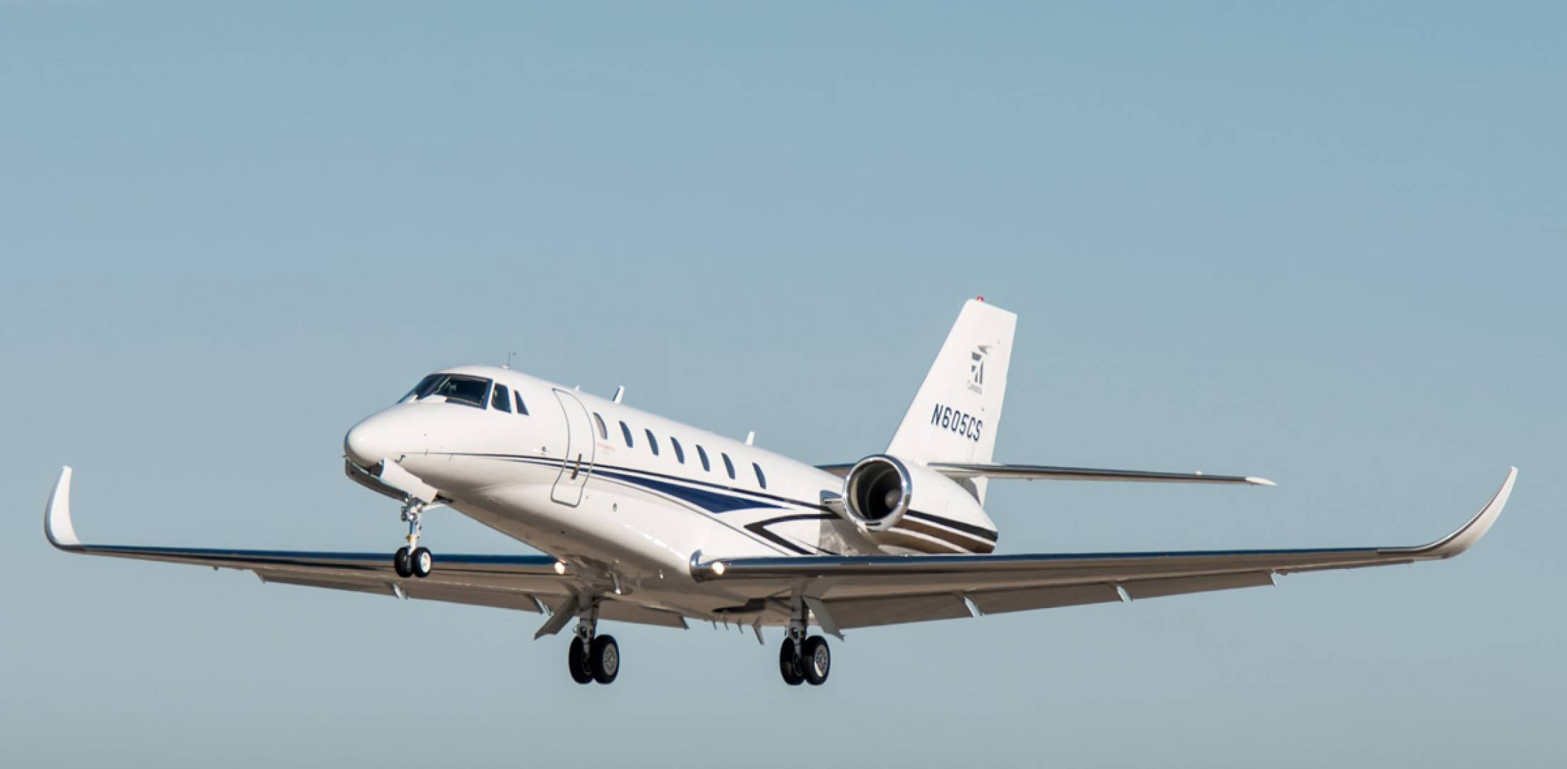 Winglet Technology's Elliptical Winglet upgrade  will increase the Citation Sovereign's wingspan by five feet to 69 feet 4 inches.