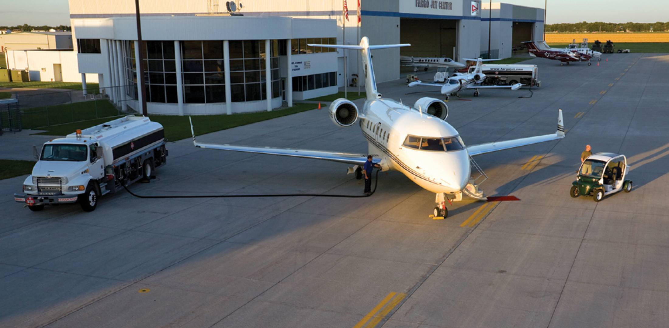 A popular tech stop for international flights, North Dakota's Hector International recently moved its customs facility next to Fargo (N.D.) Jet Center,  making it more convenient for business aircraft passengers to clear customs.