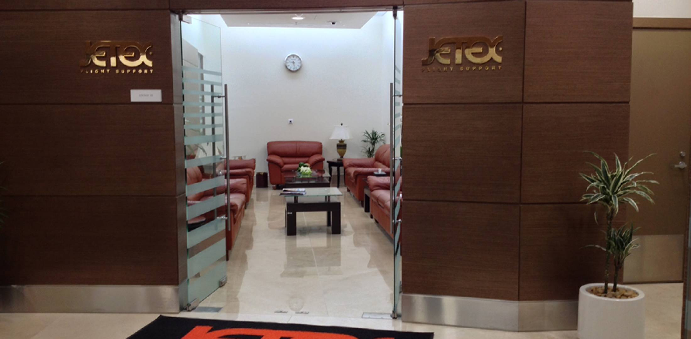 Jetex Flight Support opened its FBO at Dubai World Central/Al Maktoum International Airport in a temporary facility shared with Jet Aviation and ExecuJet.