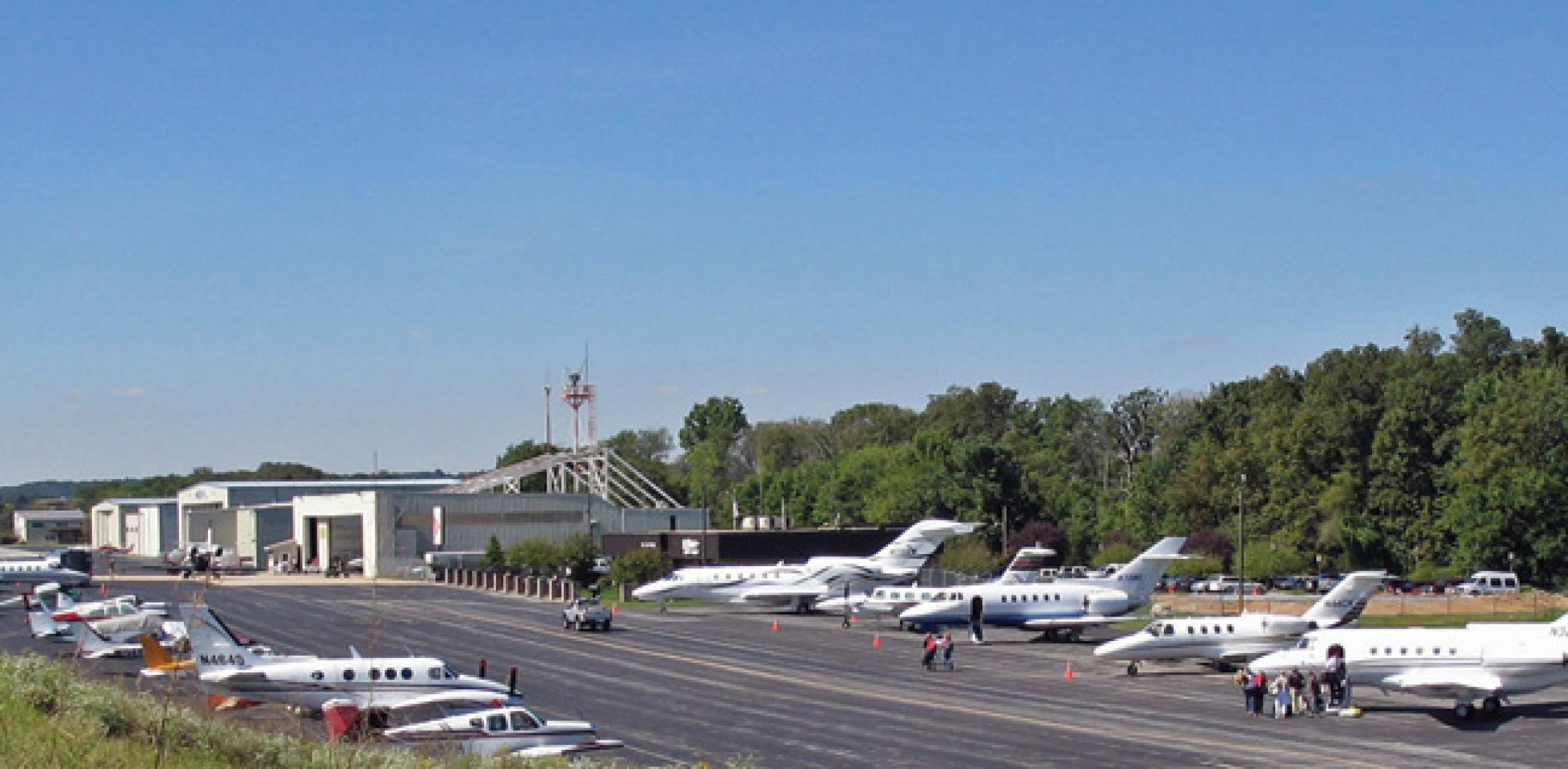 Chester County Aviation at G.O. Carlson Airport in Coatesville, Pa., joined the Ross Aviation network this year.
