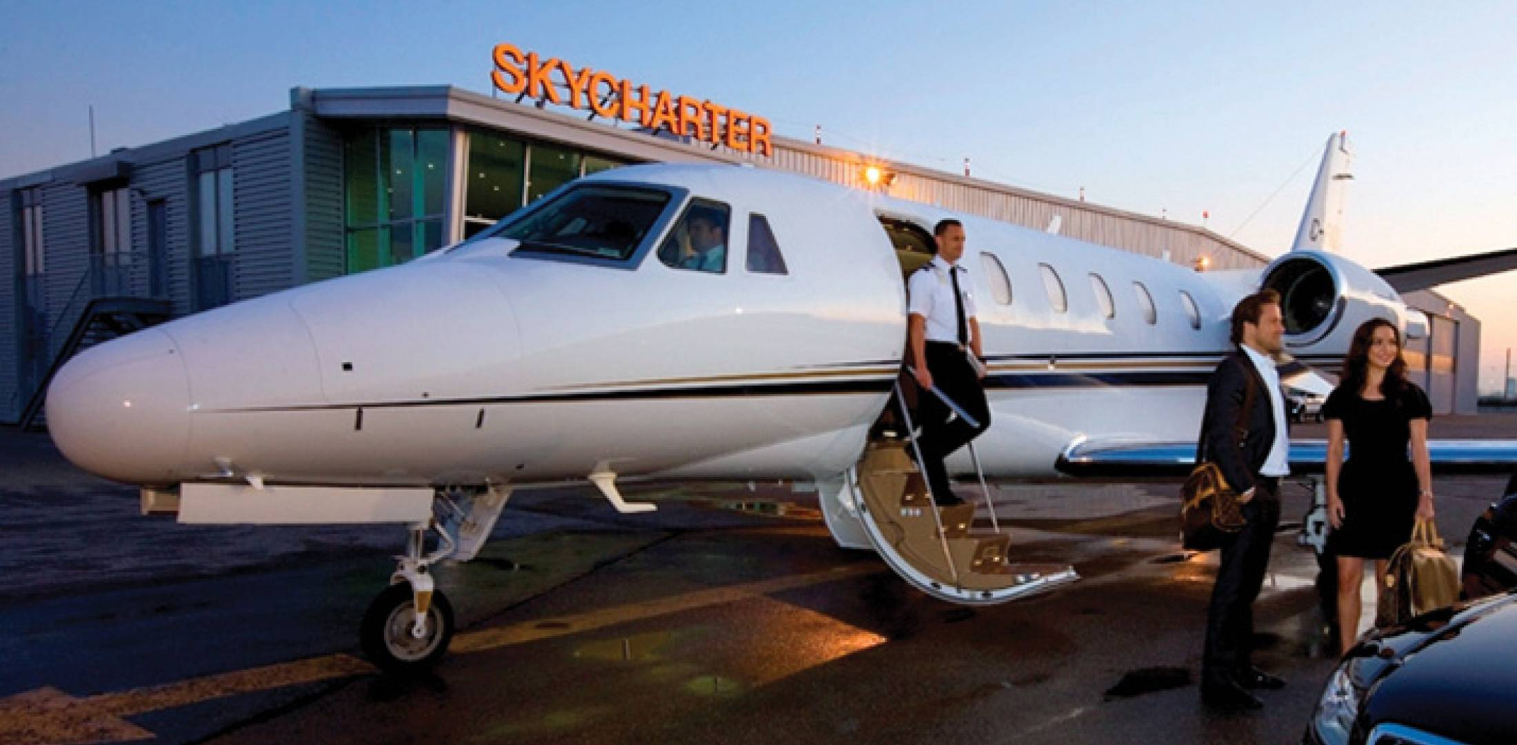 "SkyCharter, on of three FBOs at Toronto Pearson, bills itself as a ""boutique"" FBO and touts its emphasis on ensuring passenger privacy."