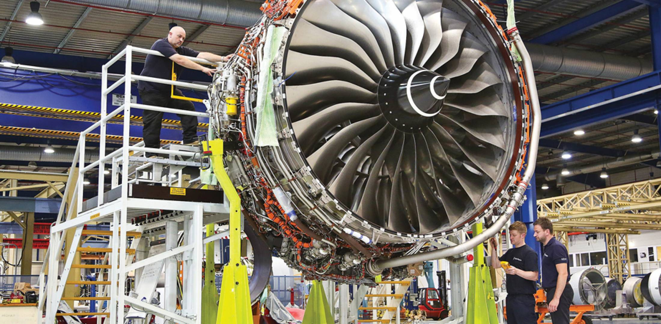 By January, Rolls-Royce had completed some 6,000 hours and 11,250 real and simulated flight-cycles of running with 13 development examples of the Trent XWB-84 that powers the new Airbus A350-900 twin-aisle twinjet. Two of the engines were being used for cyclic tests at Rolls-Royce North America's Outdoor Jet Engine Test Facility at the NASA John C. Stennis Space Center in Mississippi.