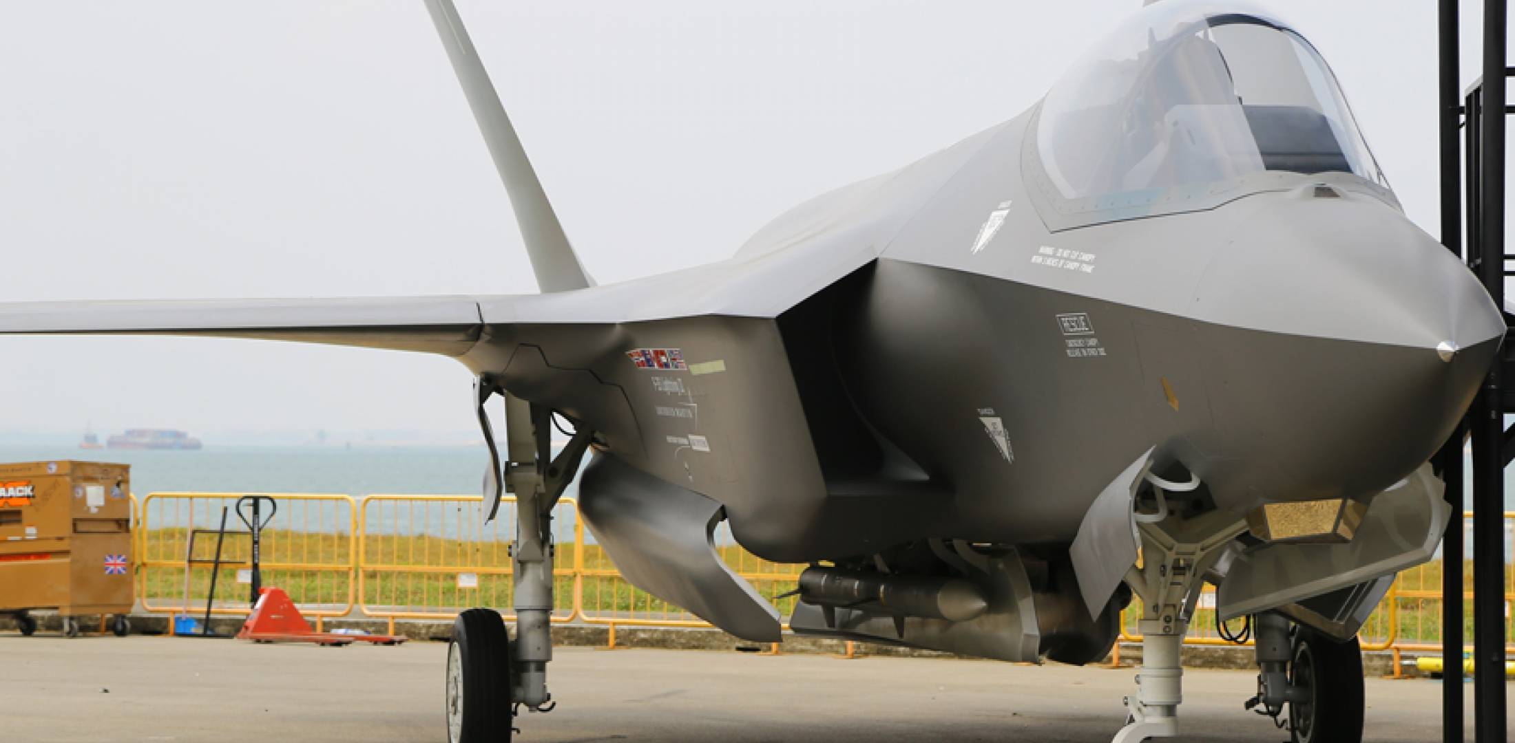 F-35 Mock-up at Singapore Airshow