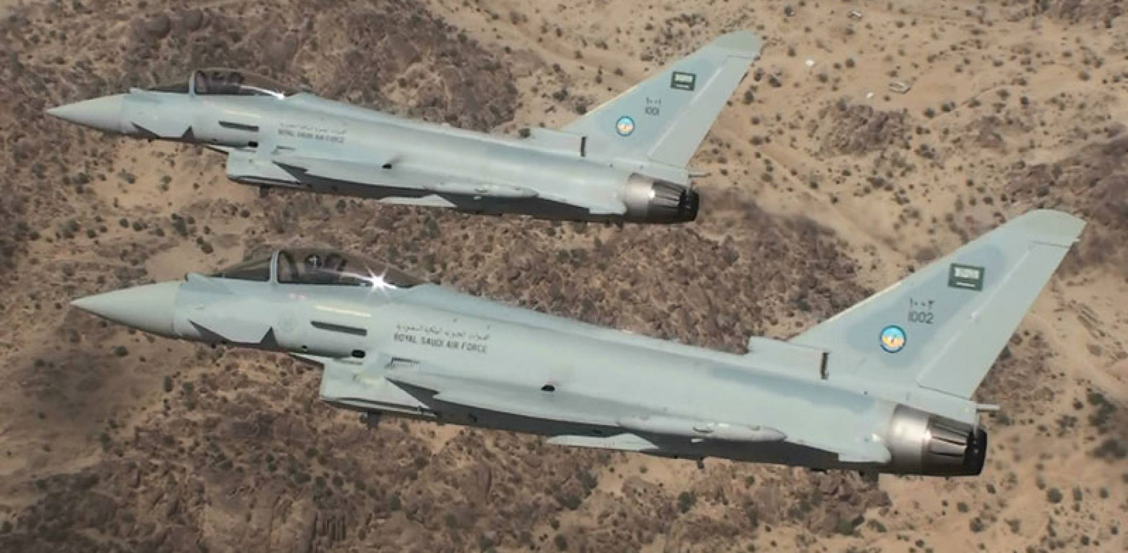 Royal Saudi Air Force Typhoons