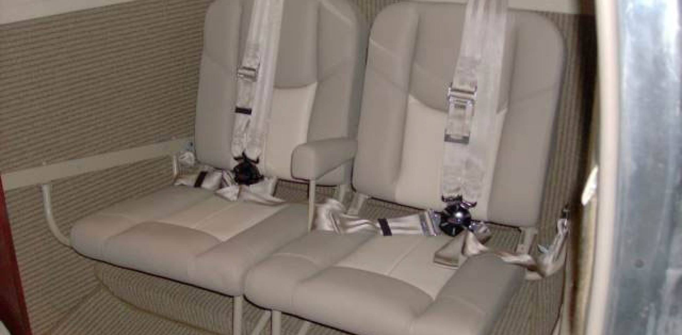 AvFab King Air jump seat