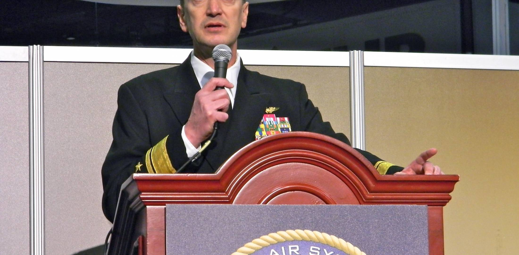Rear Adm. Randy Mahr, F-35 deputy program manager