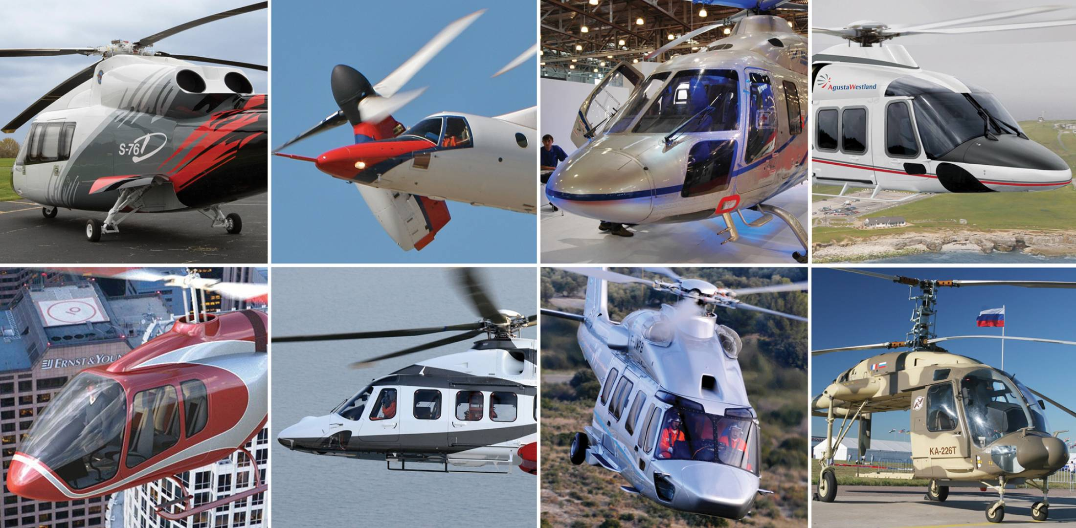 helicopter montage