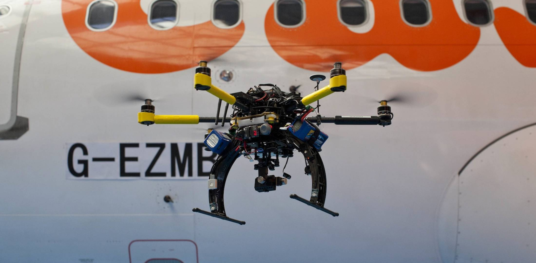Coptercraft inspects easyJet fleet.