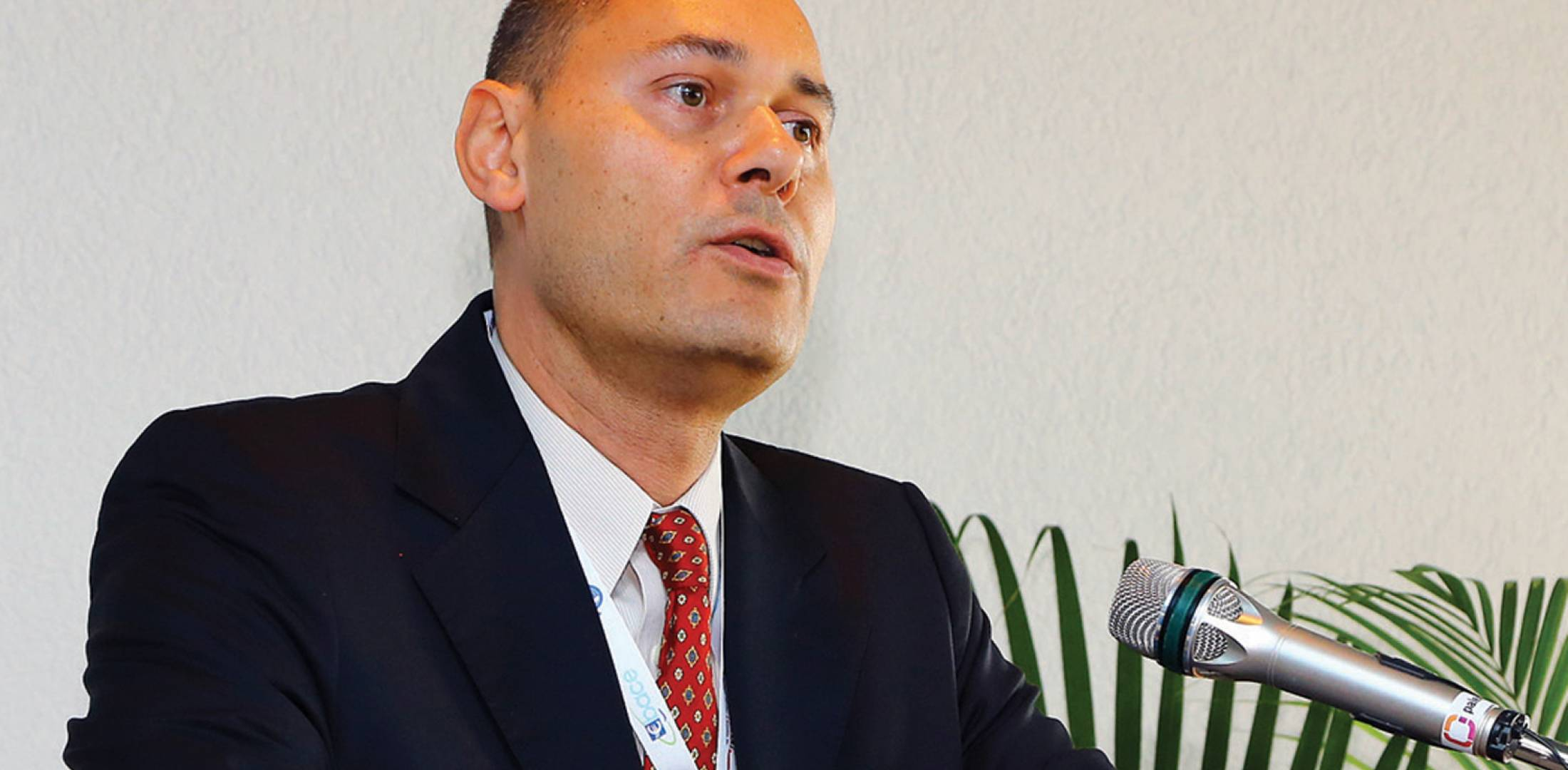 EBAA CEO Fabio Gamba (Photo: David McIntosh)