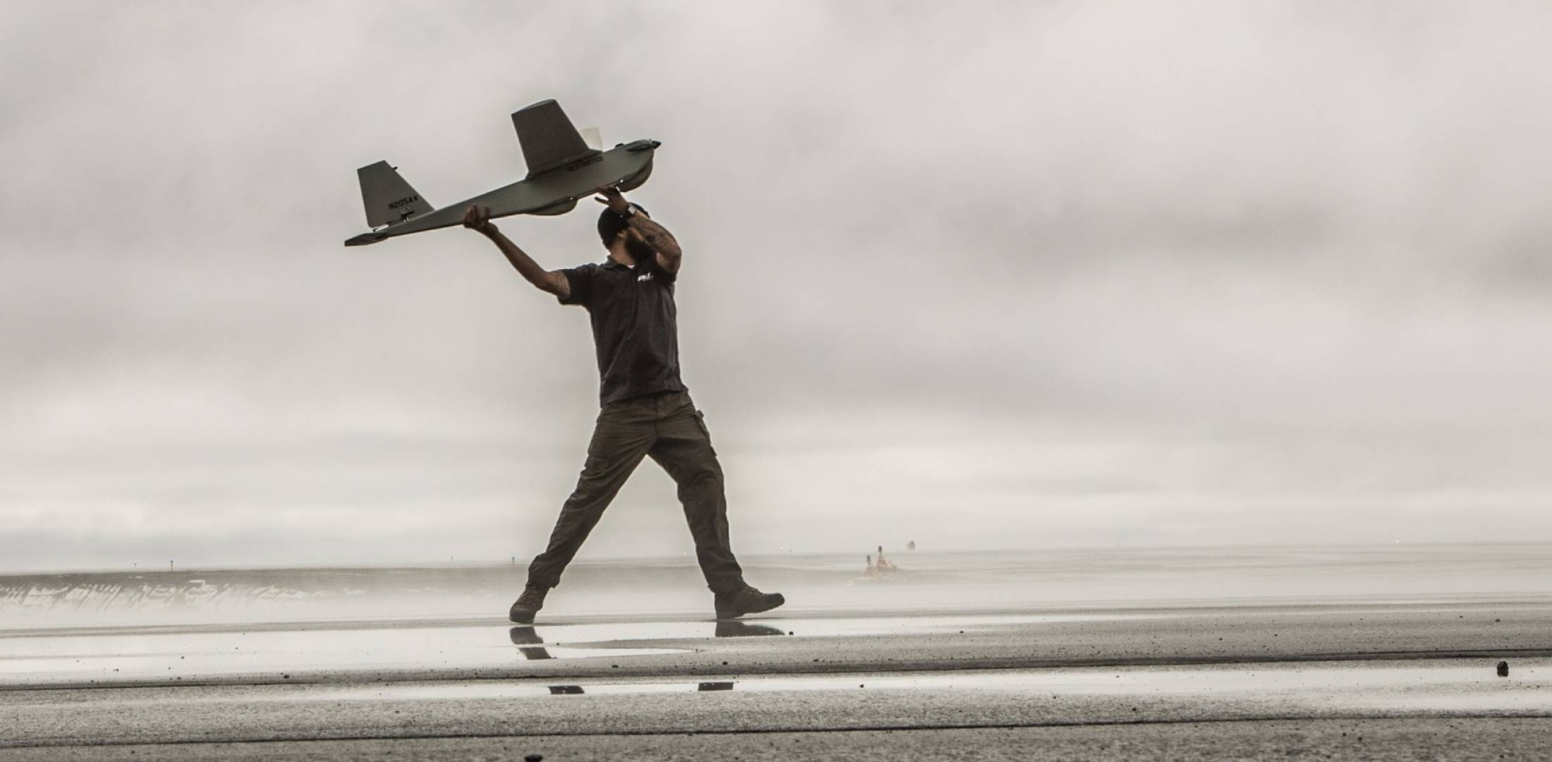 AeroVironment Puma AE launch in Alaska