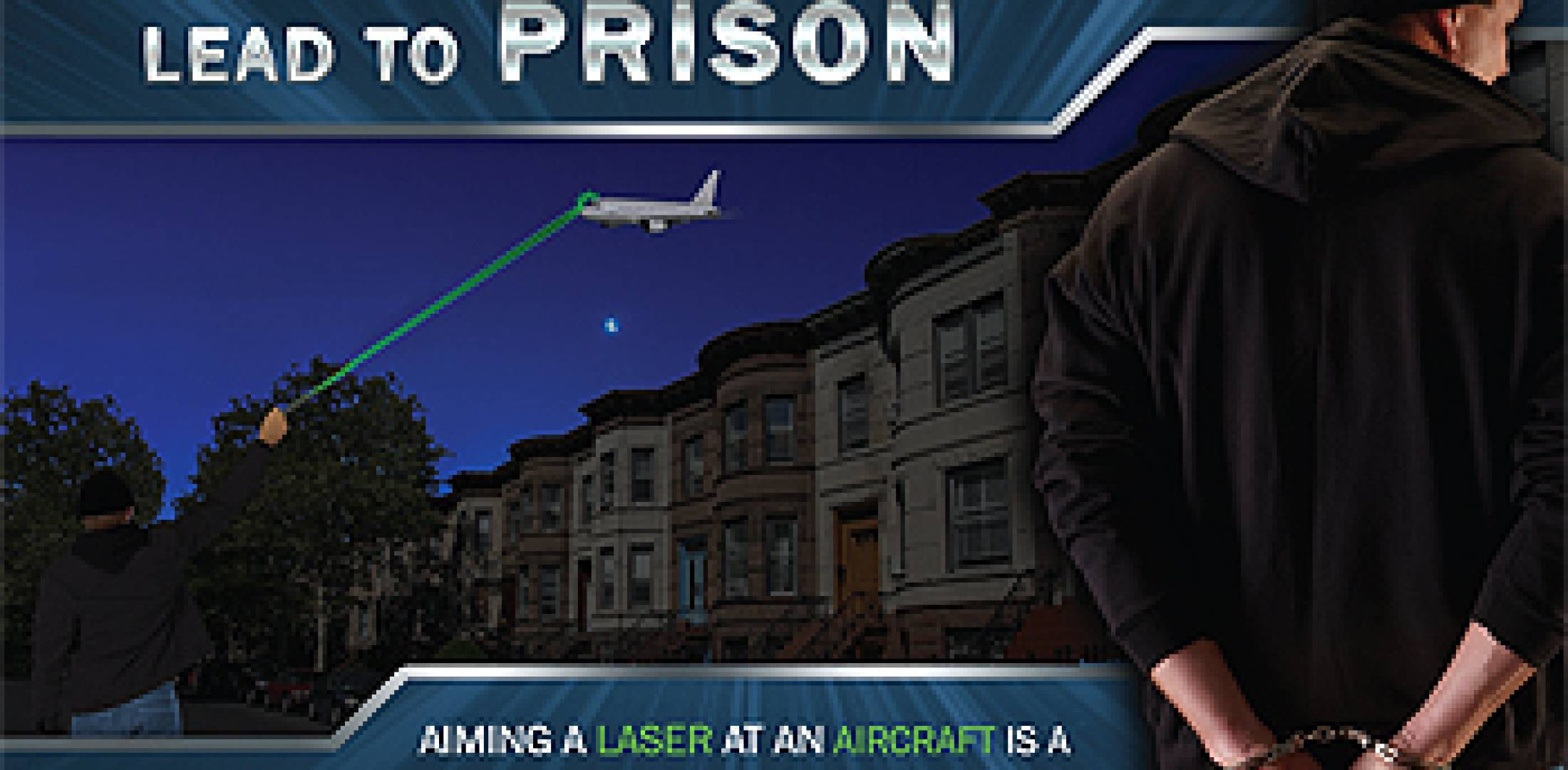FBI flyer warns against laser pointing
