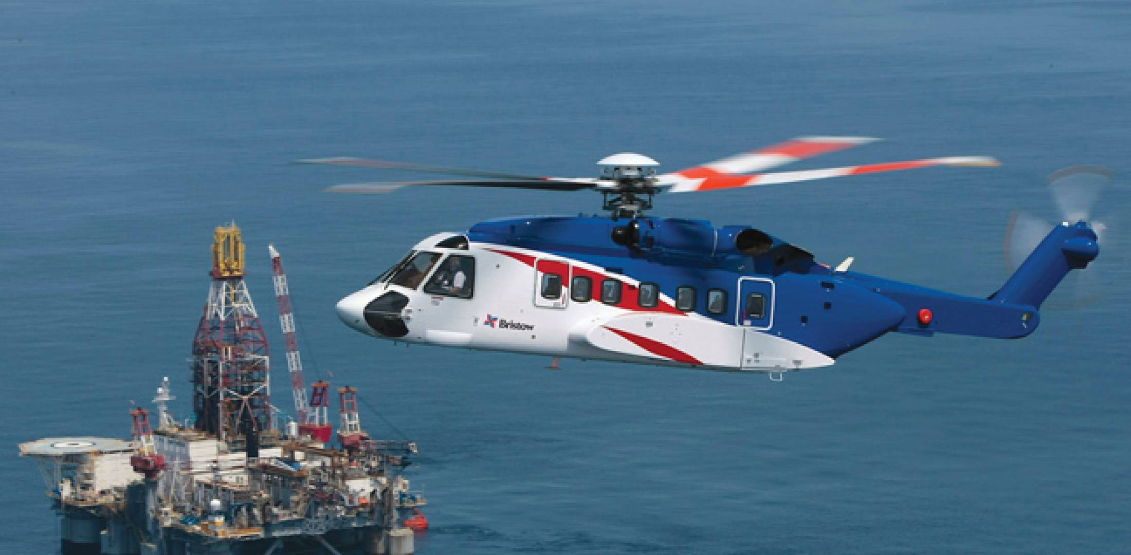 The continued boost in the oil and gas industry is driving the need for offshore helicopters, such as this Sikorsky S-92, and advanced simulators to train the flight crews.