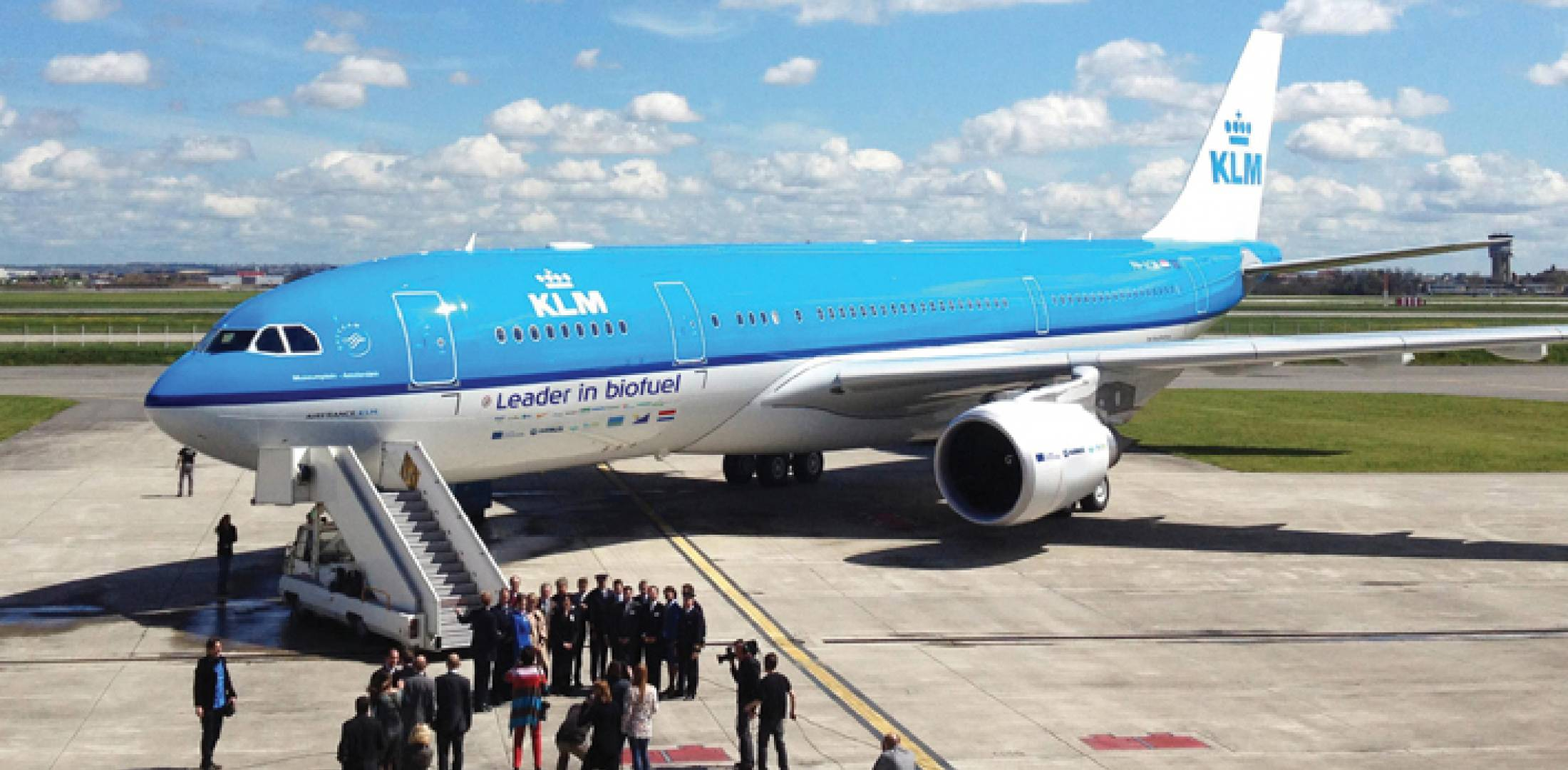 In May, an A330-200 operated by KLM Royal Dutch Airlines made a 10-hour flight from Amsterdam to Aruba with tanks filled with a 20-percent blend of fuel made from used cooking oil.