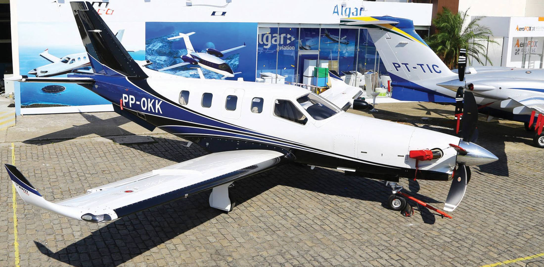 With a new five-blade Hartzell propeller leading the way, Daher-Socata's TBM 900 is a winner. (Photo: David McIntosh)