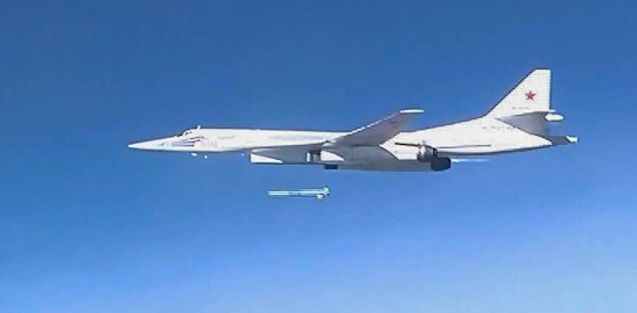 Latest Russian Strikes On Syria Employ New Cruise Missile