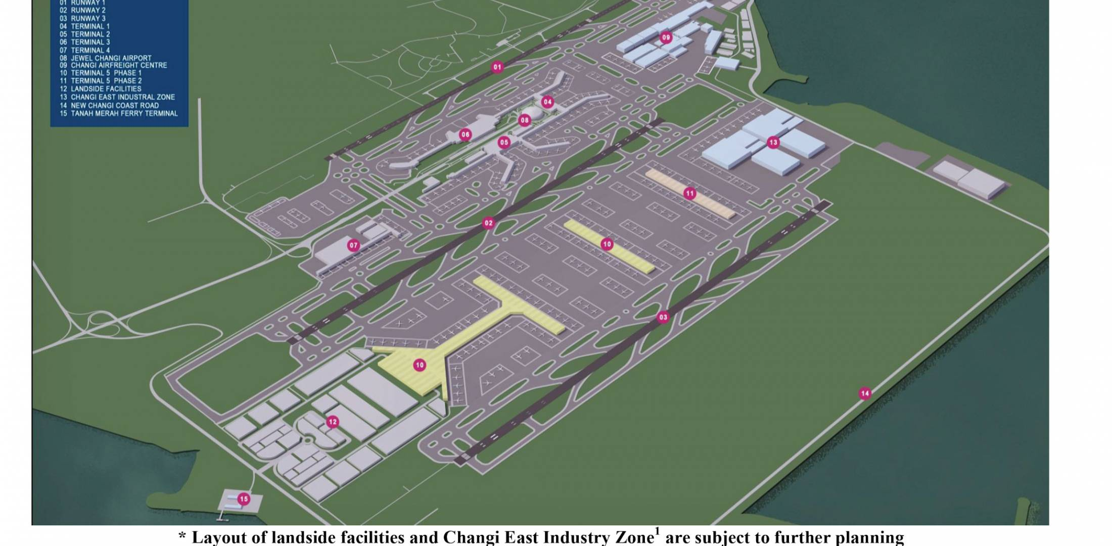Changi Airport Outlines Expansion Plans