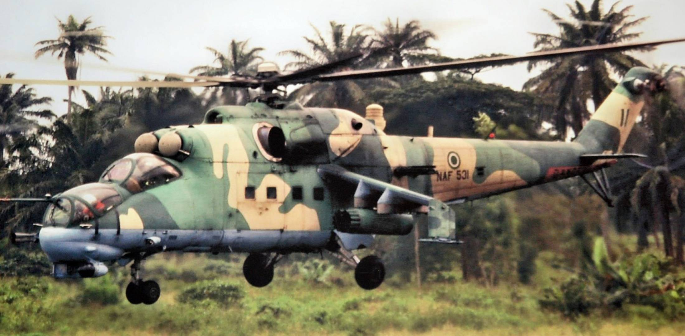 helicopters mi 35m with Nigerian Air Force Orders More Russian Helicopters on Russian Helicopters Displays Military Helicopters At Singapore Airshow 2014 further 6130 besides Sleeping With Enemy moreover Russia  pletes delivery 12 mi 35 ah 2 sabre attack helicopters to brazilian armed forces 1404133 also 1081458583204.
