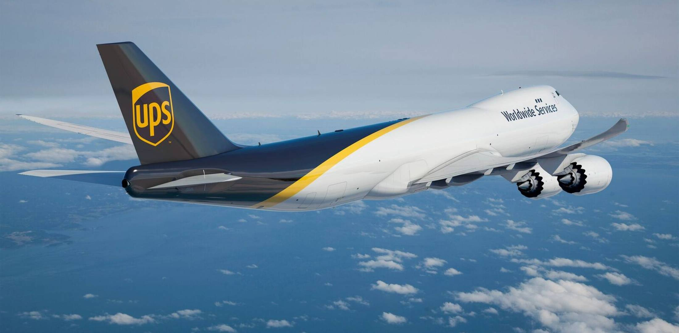 UPS will begin adding a new batch of 14 Boeing 747-8s in 2017. (Photo: UPS)
