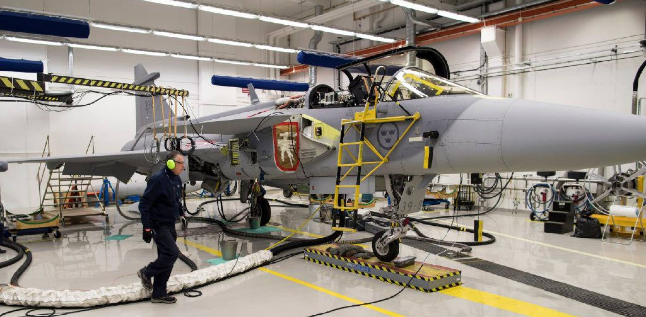 Gripen E production
