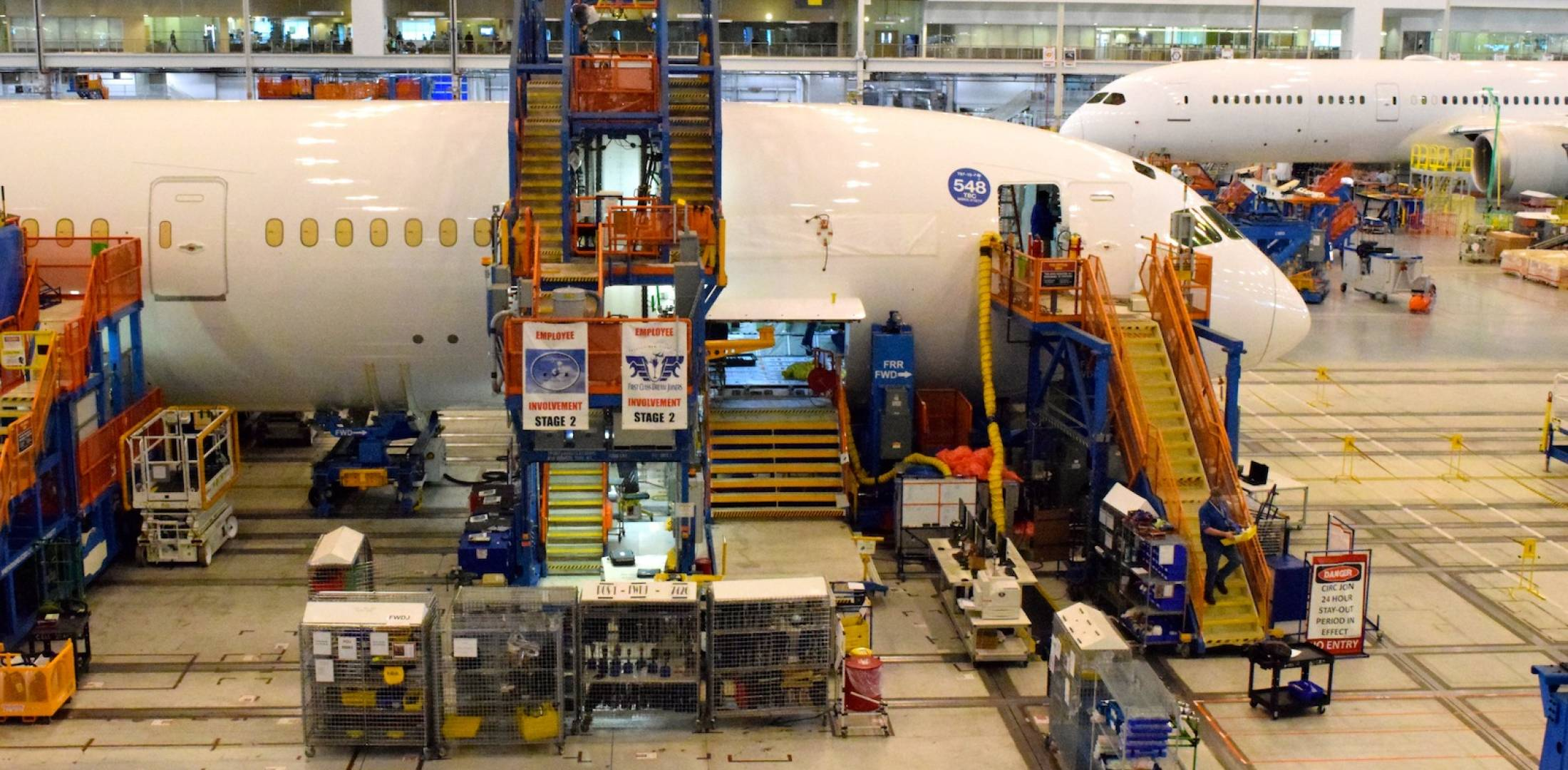 Second Boeing 787-10 cycles through assembly