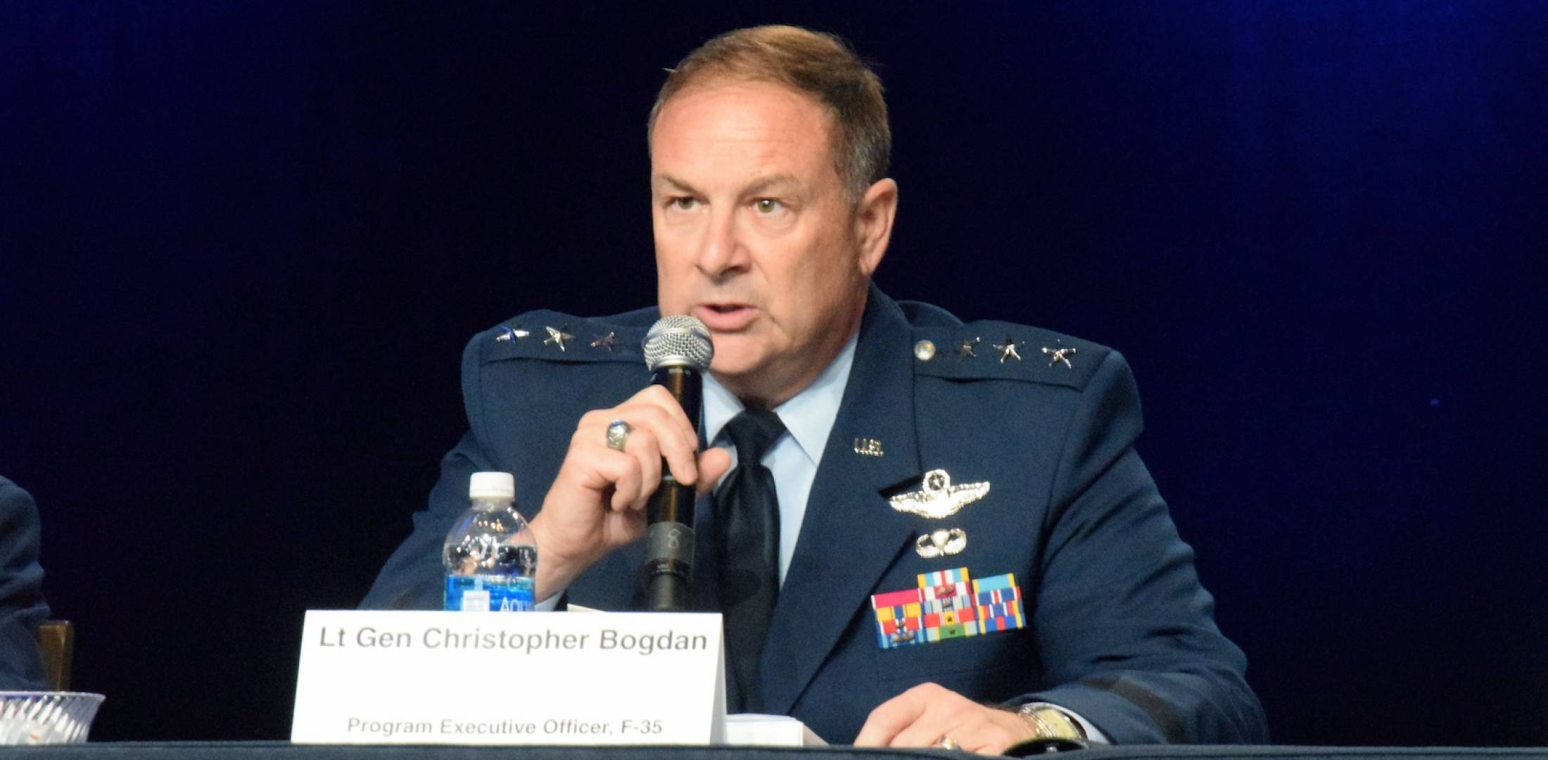 Air Force Lt. Gen. Christopher Bogdan