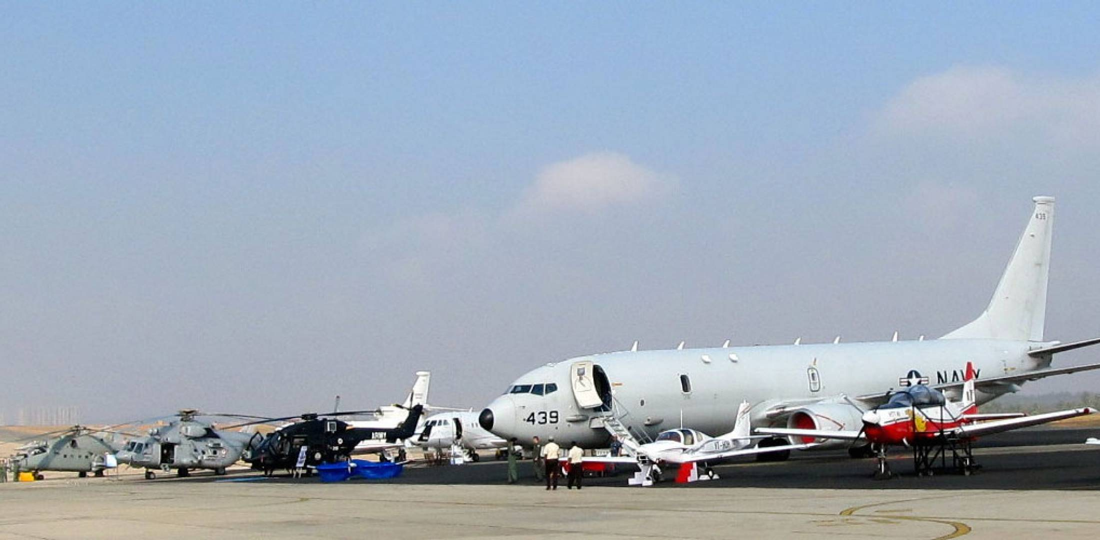 Aero India static display