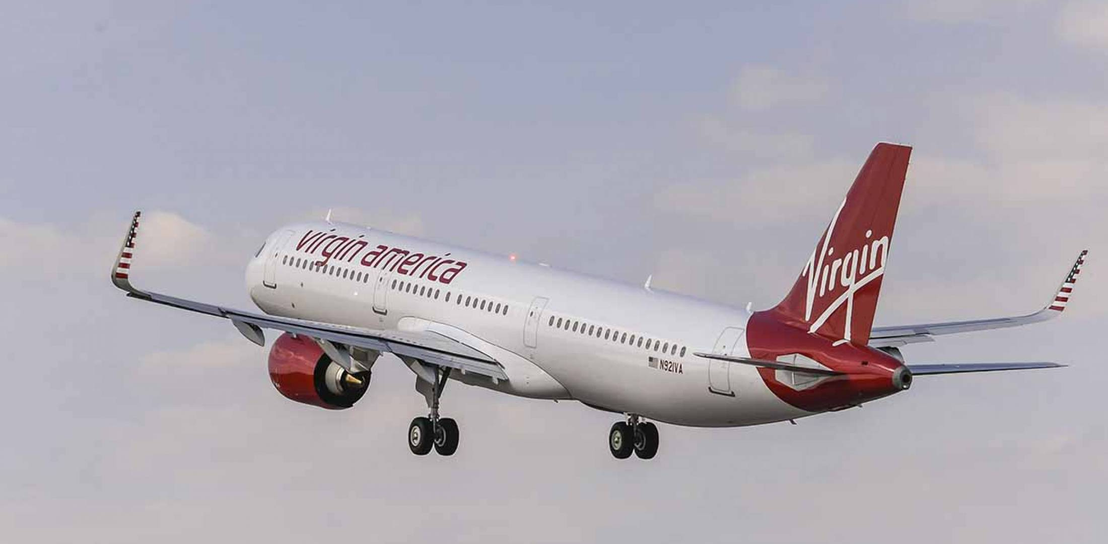 Airbus delivers first a321neo to virgin america air for Virgin america a321neo cabin