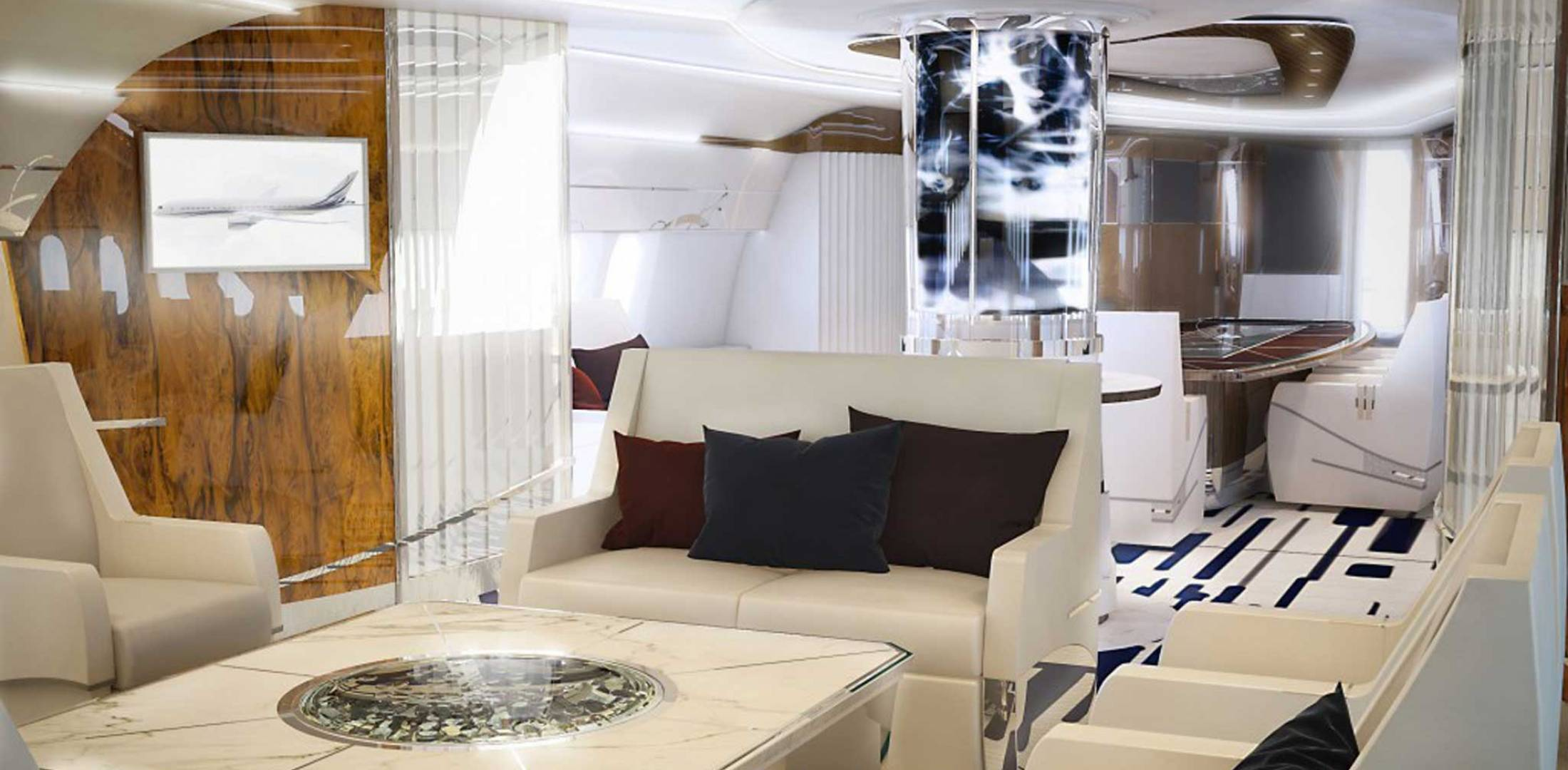 With the recent advances in technology and design aircraft concepts - Greenpoint Technologies Cabin