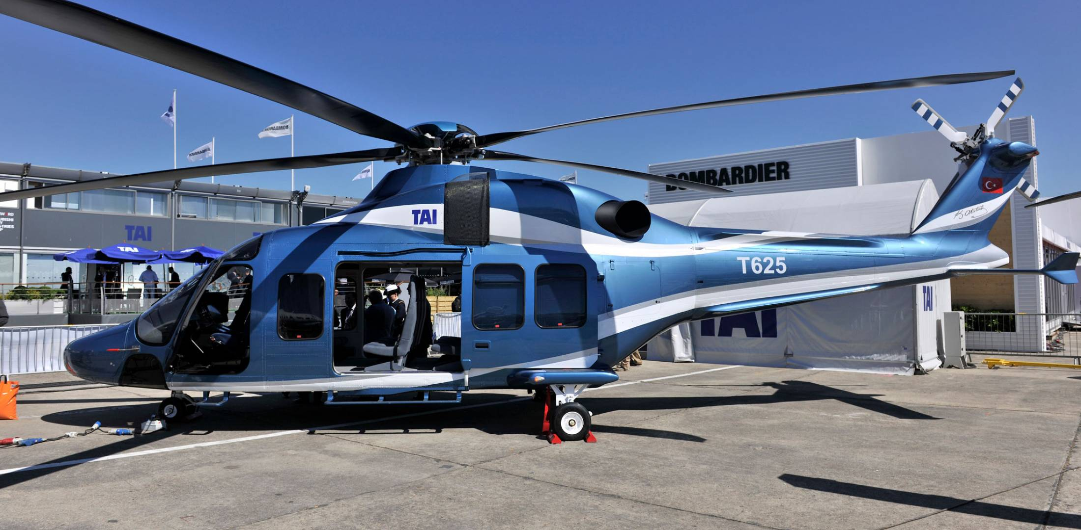 Turkey's T625 utility helicopter would have mostly indigenous components.