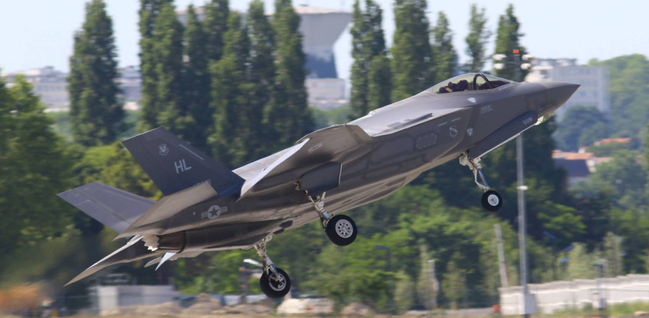 F-35A stealth fighter