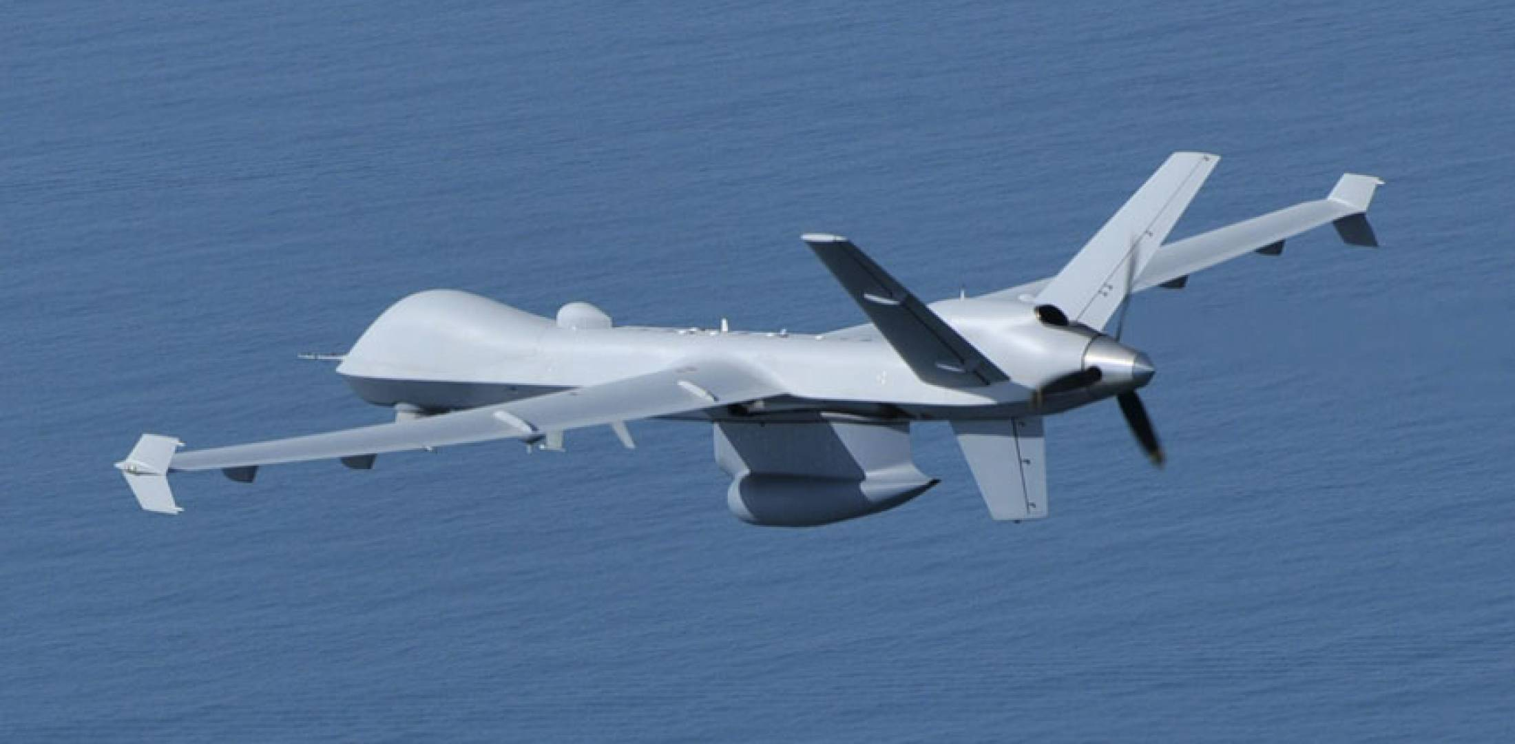 Predator B UAS in flight