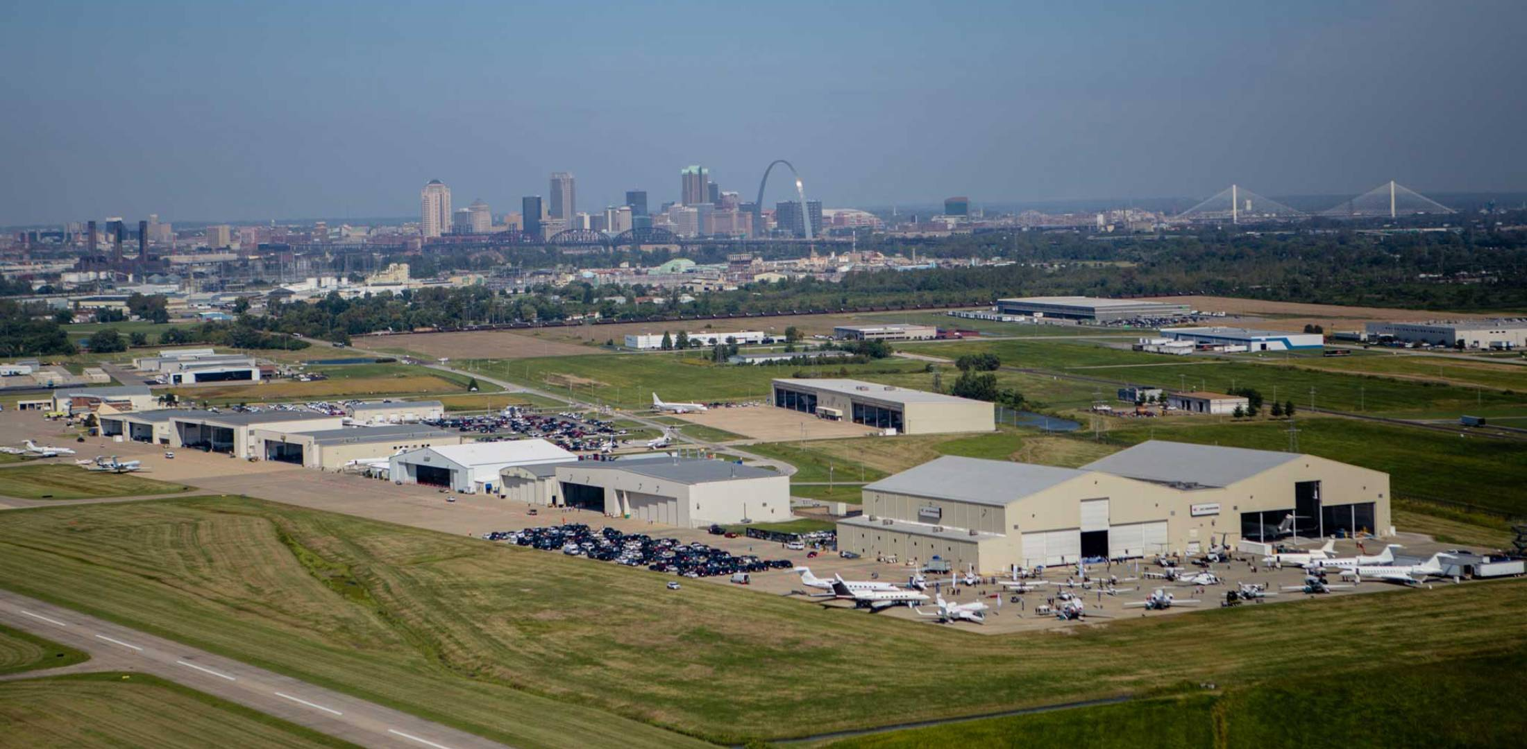 Jet Aviation's St. Louis Facility