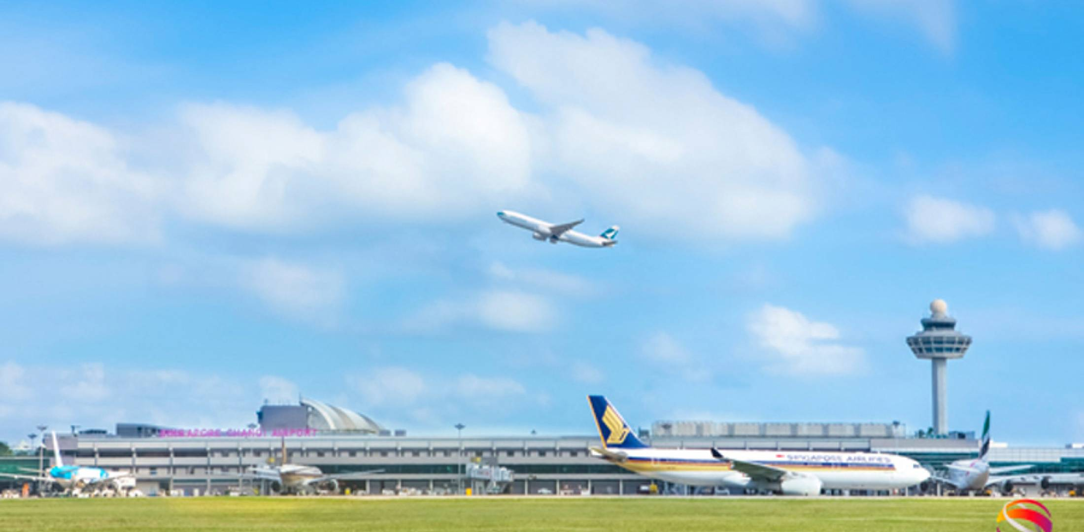 Handling on average more than a million travelers a week and almost 1,000 aircraft movements a day, Singapore's Changi Airport is seeing record numbers of flights and passengers.
