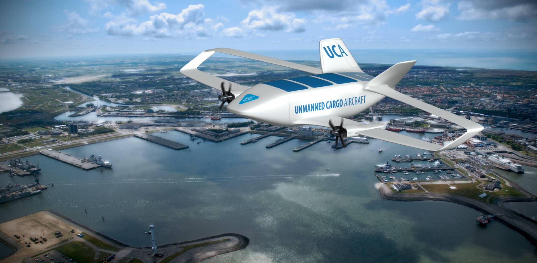 Unmanned cargo aircraft concept
