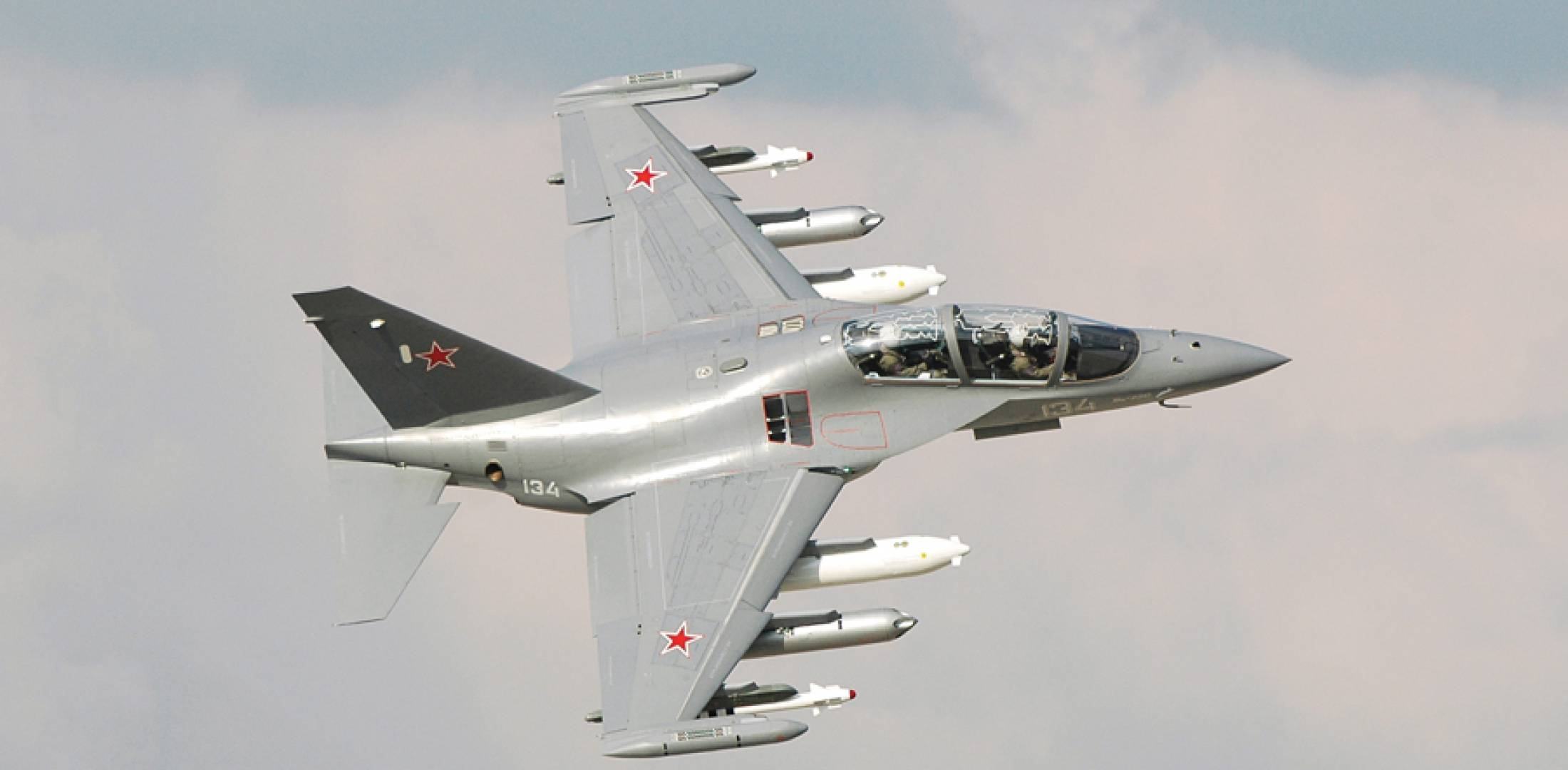 The Yak-130 trainer could find a role in counterterrorist campaigns.
