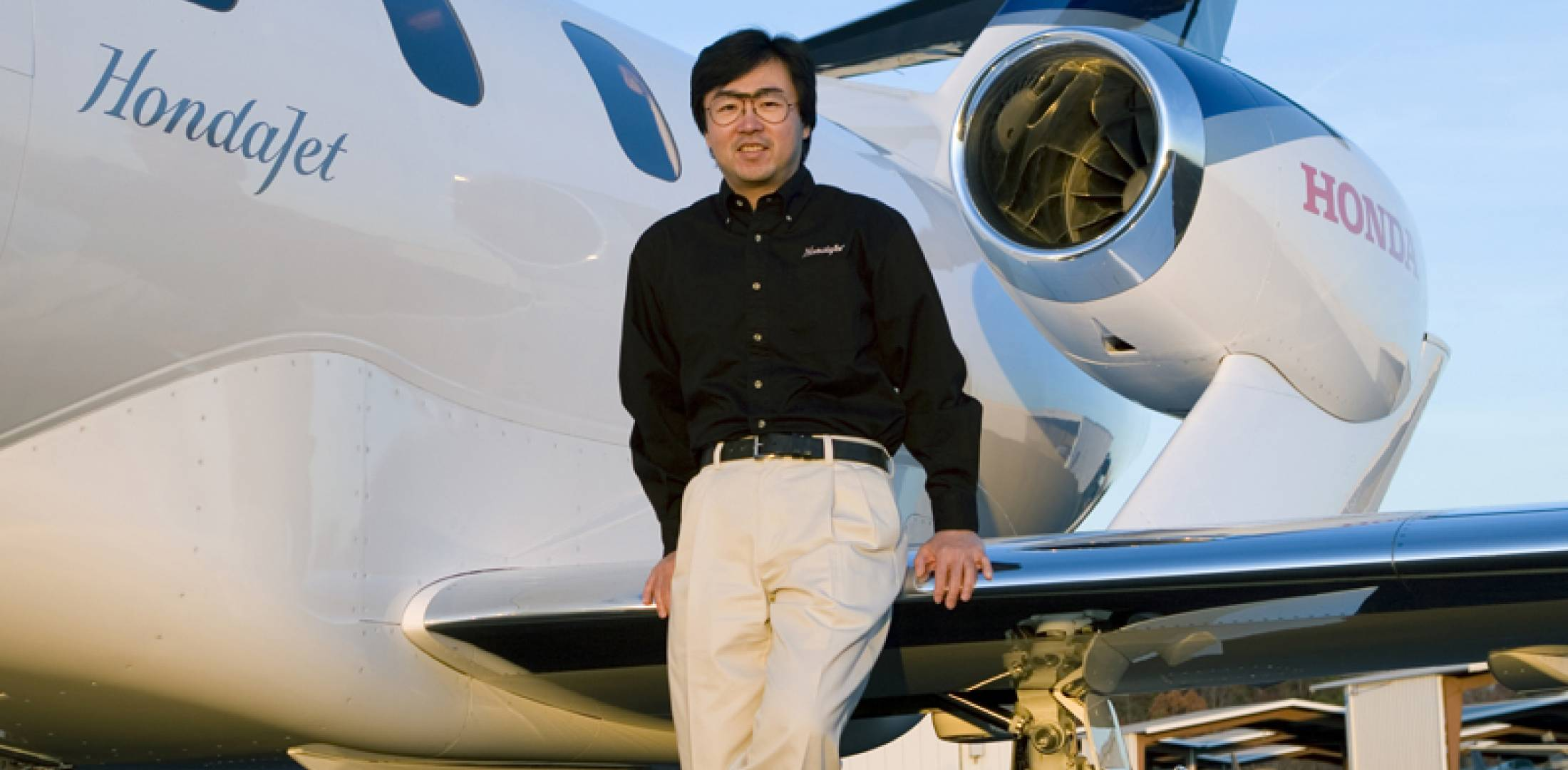 Honda Aircraft president and CEO Michimasa Fujino