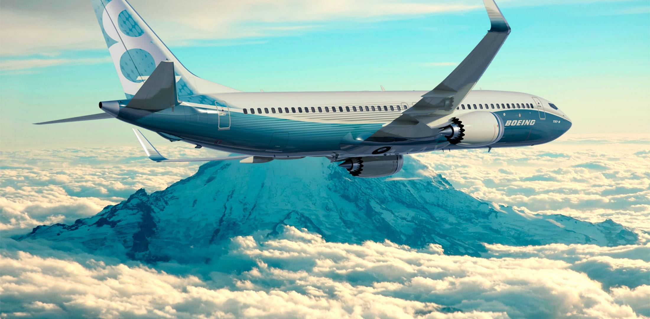 Boeing 737MAX computer-generated image