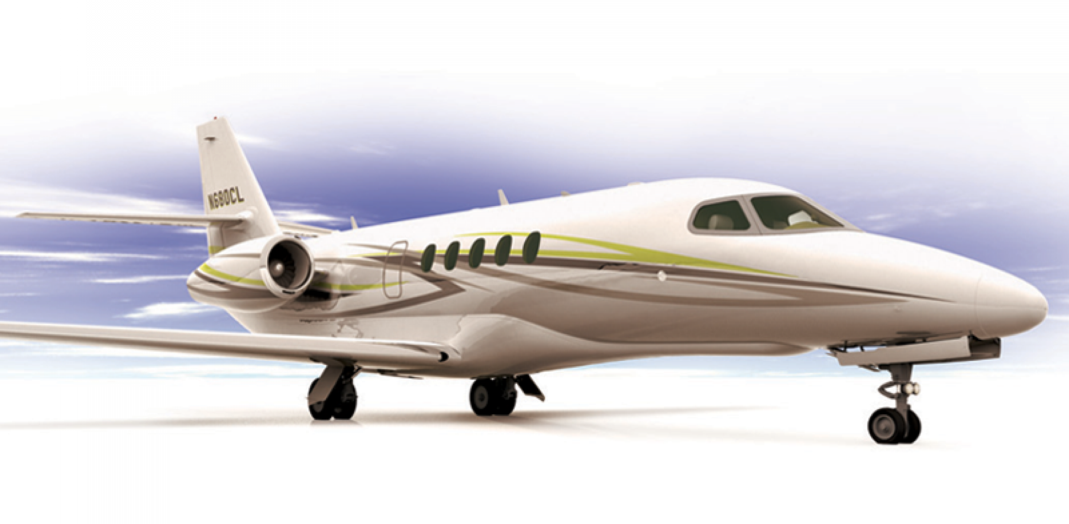 The new Citation Latitude essentially mates a new, standup fuselage and Garmin G