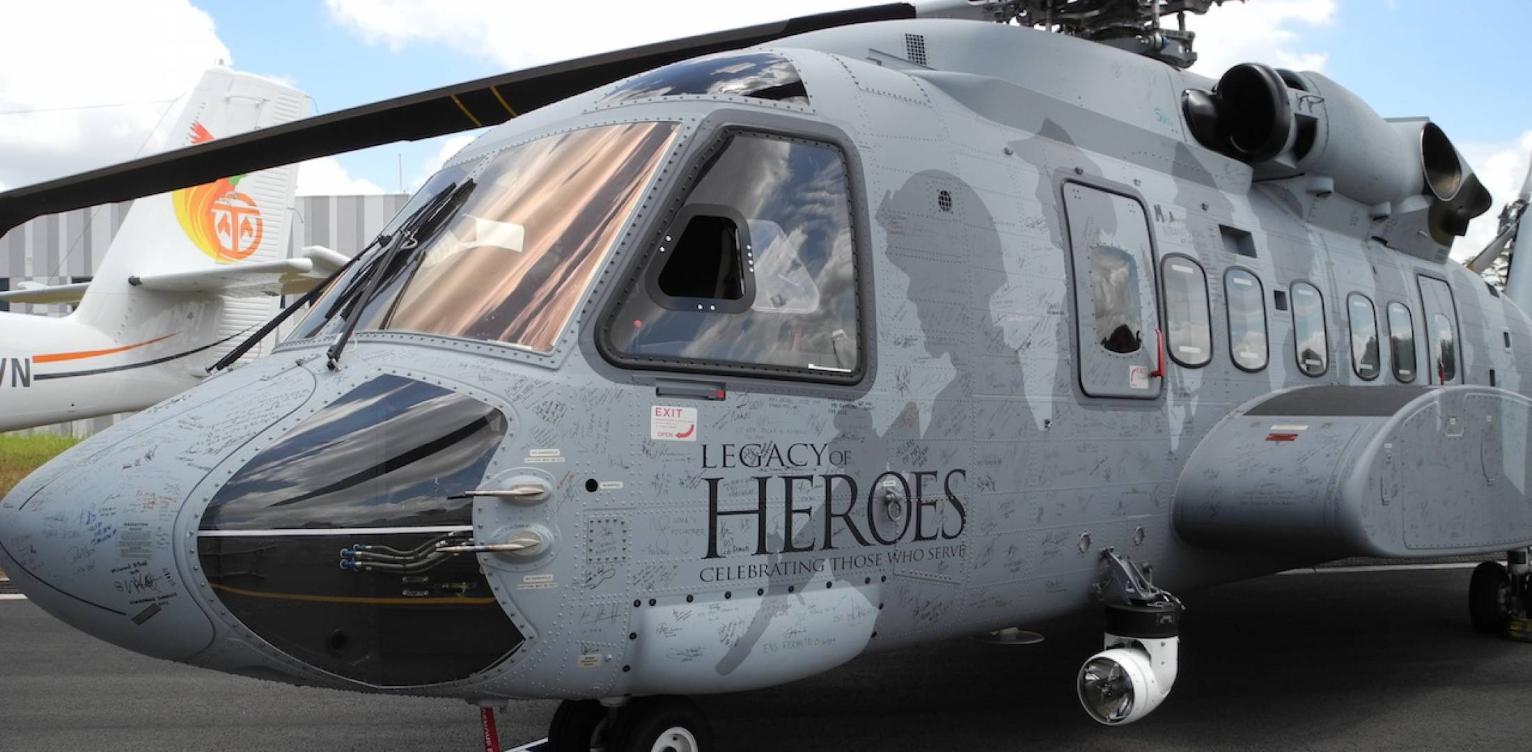Sikorsky S-92 Legacy of Heroes tour