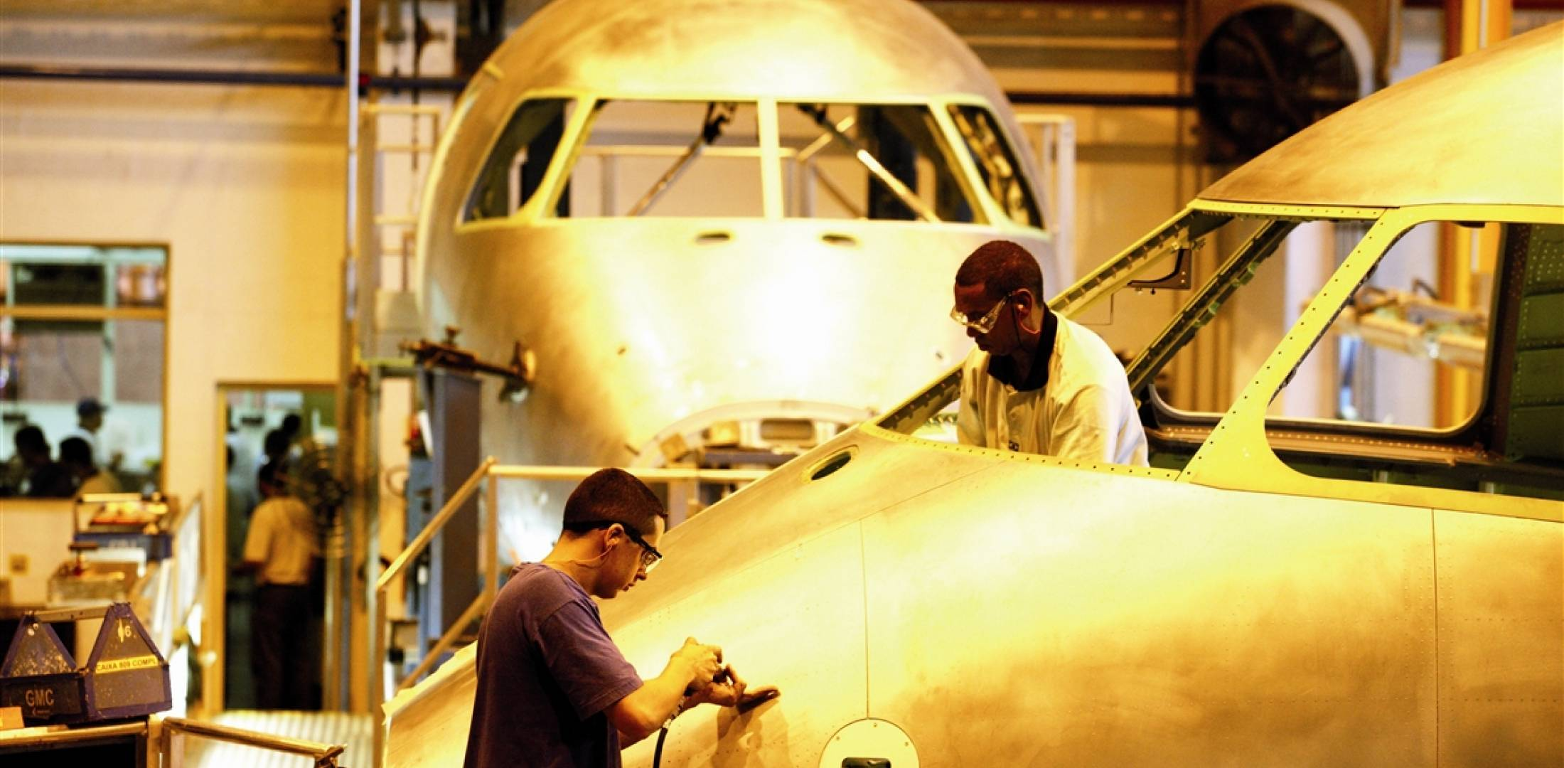 Embraer E-Jet Production