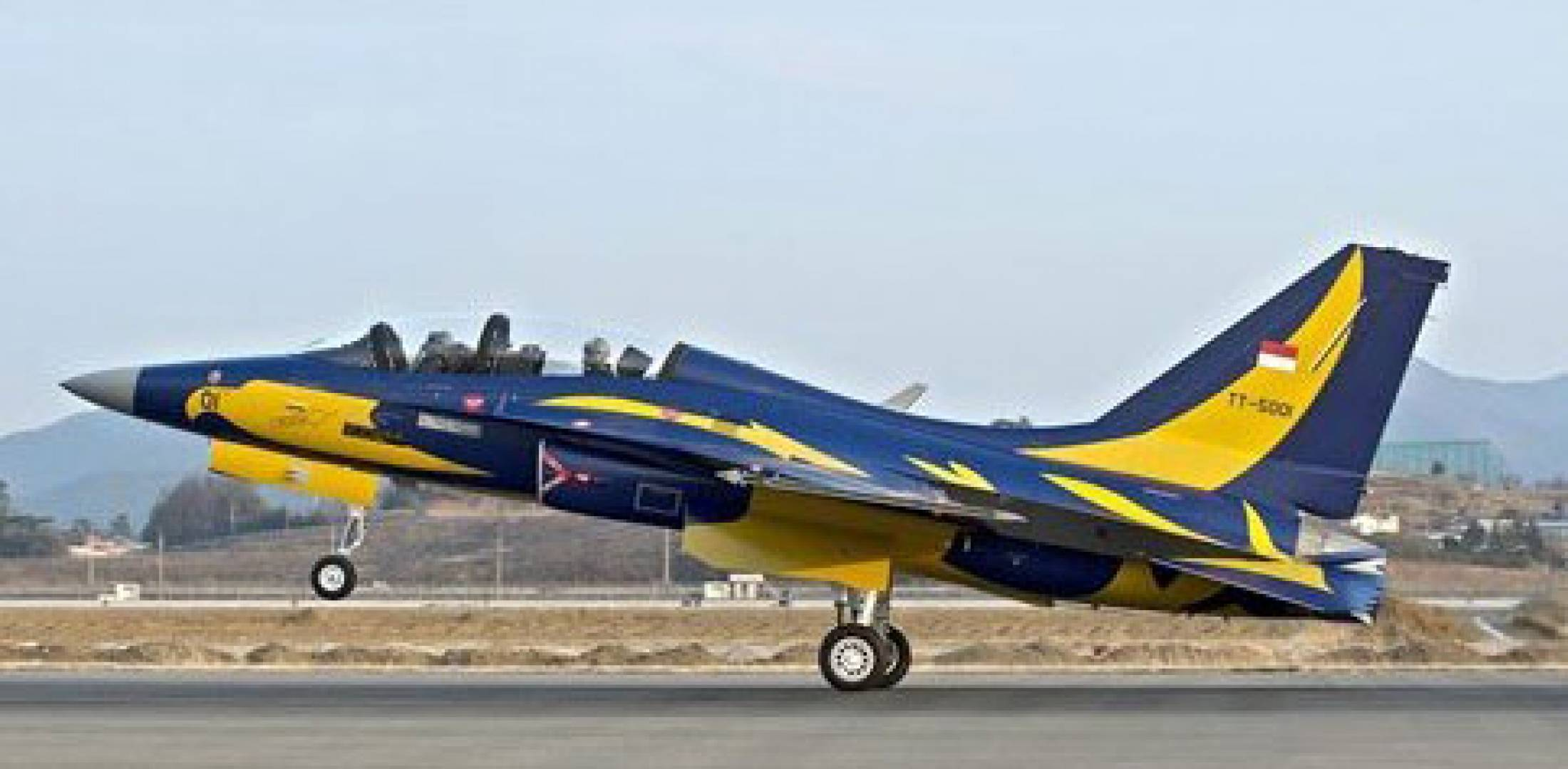 Korea Flies First Export T 50 Trainer Jets For Indonesia