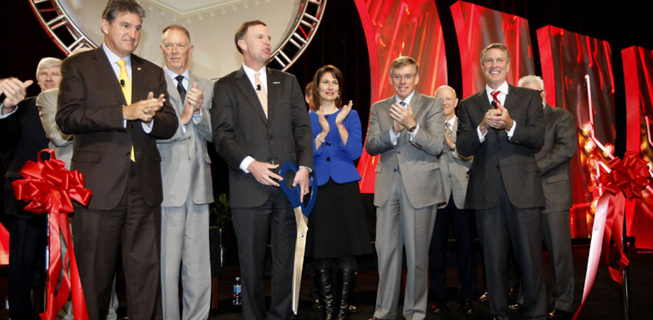 NBAA 2011 opening general session ribbon cutting ceremony.