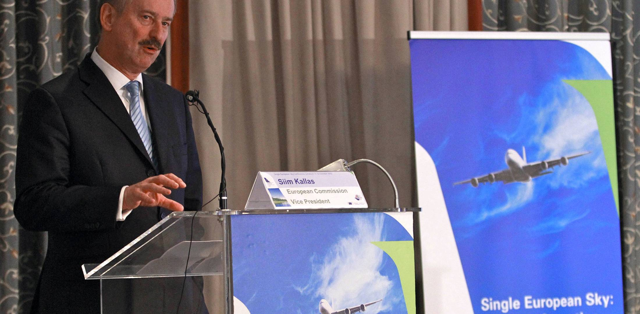 Siim Kallas, European Commission vice president for transport