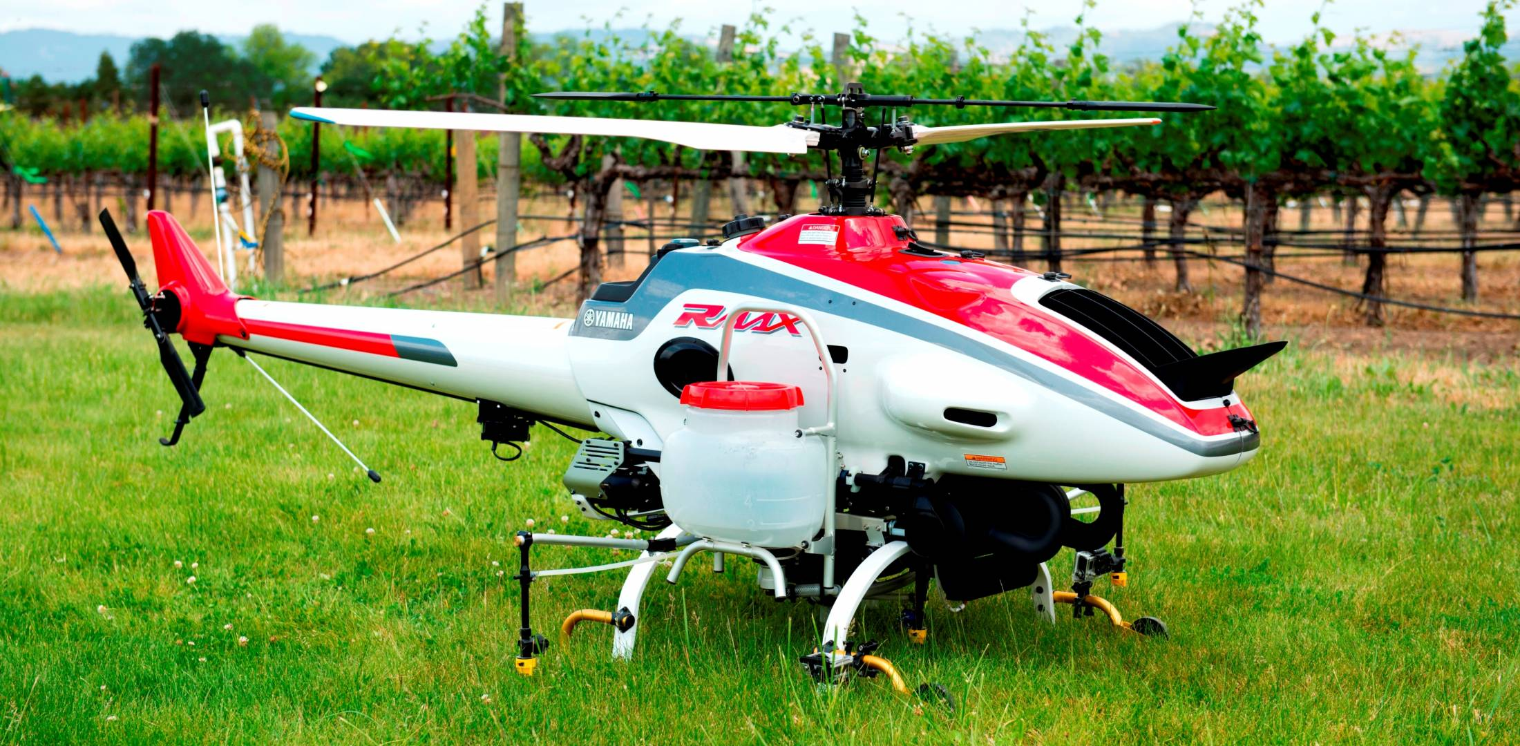 Yamaha RMax unmanned helicopter