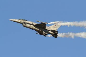 UAE F-16 fly-by