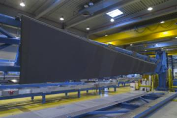 GKN, which makes advanced composite structures, such as wing spars, for the n...