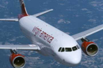 Virgin America has provided Airbus with its first firm order for the new A320...
