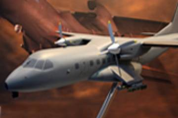 Two Airbus Military CN-235 transports are to be modified to gunship configura...
