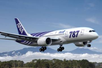 Boeing plans to deliver ANA's first 787—expected to sport a special livery–in...